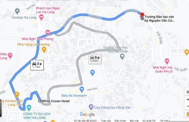 Khách sạn gần trường Đào tạo cán bộ Nguyễn Văn Cừ - 3